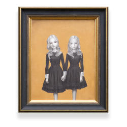 <strong>Audrey & Rose</strong><br />Oil on canvas<br />14×18 inches