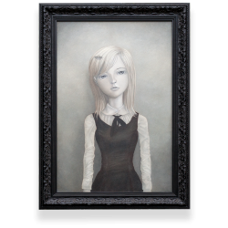 <strong>Imogen</strong><br />Oil on canvas<br />20×30 inches