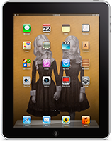 audreyRose iPad HomeScreen