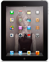 imogen iPad HomeScreen